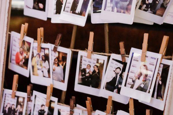 Instax svatební fotokoutek